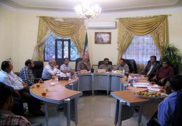 دیدار شهردار و مسئولین واحدهای شهرداری لار با اعضای شورا به مناسبت روز شوراها