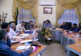 رئیس اداره ورزش و جوانان در جلسه شورا حضور یافت