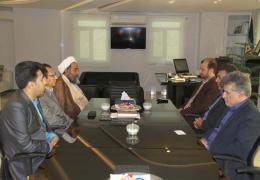 دیدار شهردار لار و رییس شورای شهر با مدیر کل جدید فرودگاه لارستان