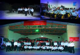 دیدار اعضای شورا با آتش نشانان به مناسبت روز آتش نشانی و ایمنی