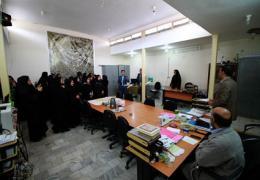 بازدید دانش آموزان آموزشگاه شهید مهرداد زینلی از شهرداری لار