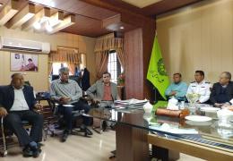 دومین جلسه ستاد تسهیلات نوروزی 97 شهرداری لار