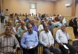 جمعی از سهامداران شرکت سیمان لارستان در شورا حضور یافتند