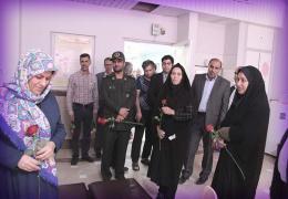 عیادت مسئولین لارستان از بیماران به مناسبت عید بزرگ غدیر