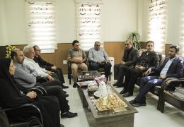 دیدار شهردار و اعضای شورا به مناسبت هفته قوه قضائیه