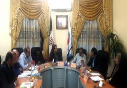 رئیس اداره ورزش و جوانان لارستان مهمان جلسه شورای شهر